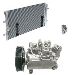 2010 Audi S4 Base 3.0L Compressor and Condenser Kit (KT EC81A)