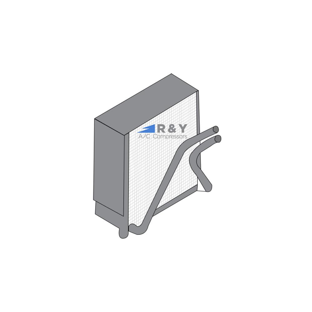 2001 Audi Allroad Quattro Base 2 7L Evaporator (EV IC9687PFC)
